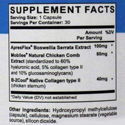 arthrozene supplement facts