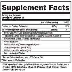 Bluoxyn Supplement Facts