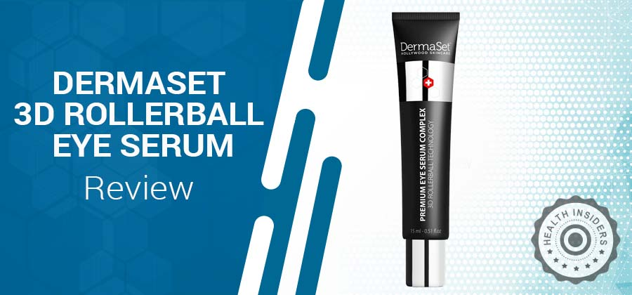 DermaSet 3D Rollerball Eye Serum
