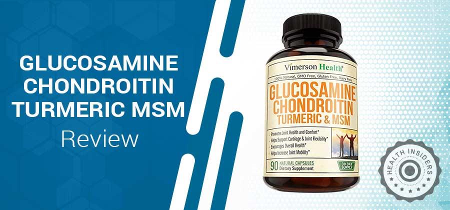 Glucosamine Chondroitin Turmeric & MSM