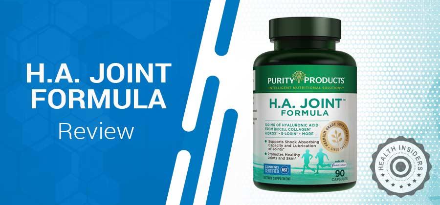 H.A Joint Formula