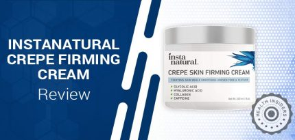 InstaNatural Crepe Skin Firming Cream Review – Is It Good?