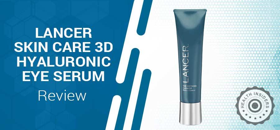 Lancer Skincare 3D Hyaluronic Acid Serum