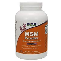 NOW MSM Powder