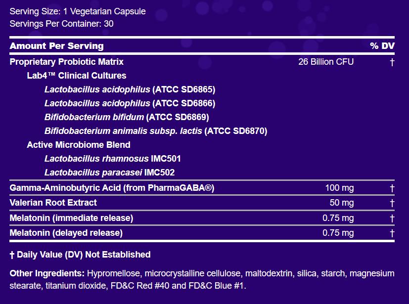 Peptiva Supplement Label