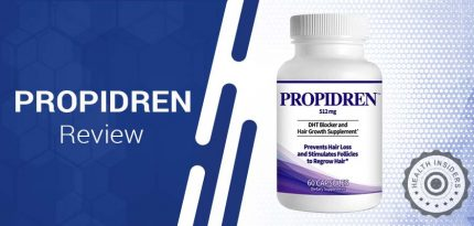 Propidren Review – Can You Get Thick, Strong & Healthy Hair with Propidren HairGenics?