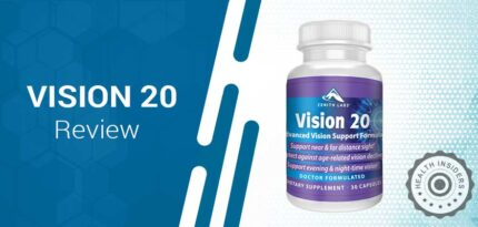 Vision 20 Review – Is It the Most Effective Advanced Vision Support Supplement?
