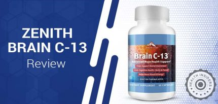 Zenith Brain C-13 Review – Is It Safe To Use & Worth Buying?